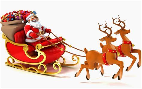 Santa Claus In Sleigh Clipart Clipartxtras