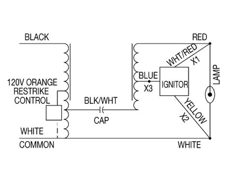 additional ballast wiring diagrams hps ballasts