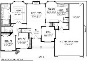 Ranch Floor Plan Ranch House Plan 73301 Ranch Floor Plans And Ranch House Plans