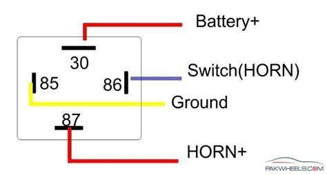 Volt Pin Relay Wiring Diagrams Circuit Diagram Maker