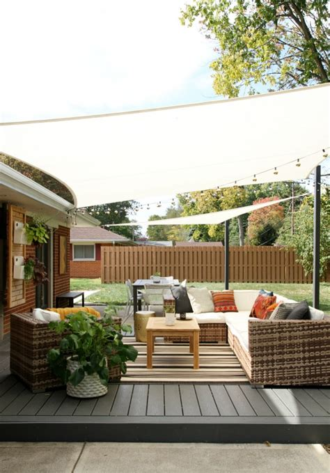 backyard shade ideas diy image mag