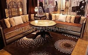 Salon Oriental Moderne : salon marocain turquoise marron maison design ~ Preciouscoupons.com Idées de Décoration