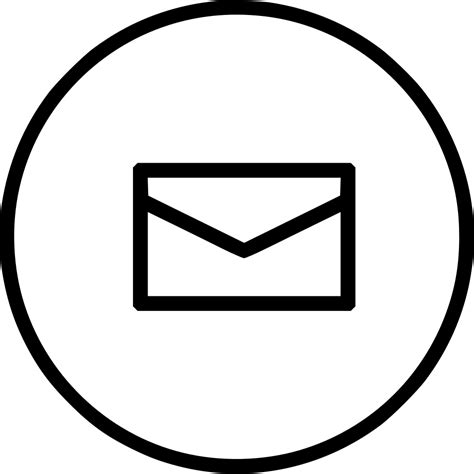 email envelope icon png mail e mail email letter envelope message newslatter svg