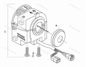 Arctic Cat Atv 2008 Oem Parts Diagram For Control Switch