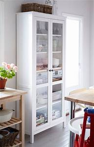 Ikea hemnes and kitchens on pinterest for Küchenvitrine ikea