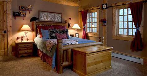 Log Home Western Bedroom, A Western Themed Little Girls