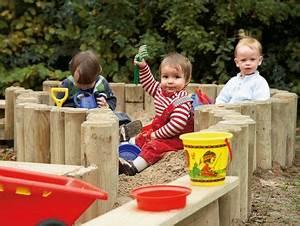 Kinderspielplatz Selber Bauen : kinder im neuem sandkasten baby pinterest sandkasten sandkasten selber bauen und sandkiste ~ Buech-reservation.com Haus und Dekorationen