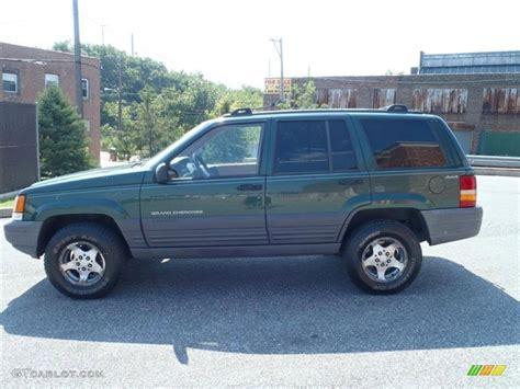 jeep cherokee green 2000 moss green pearl 1997 jeep grand cherokee laredo 4x4