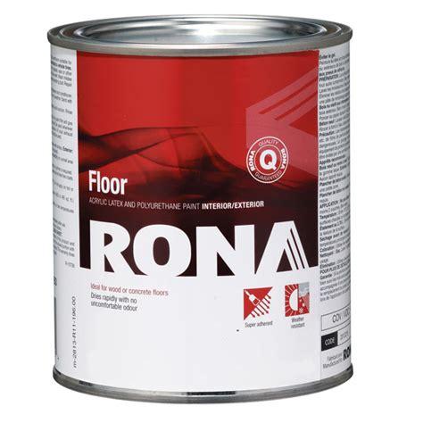 eco floor paint rona