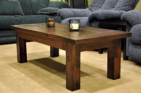 coffee table woodworking plans  beginners