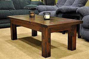 4 Must Try Coffee Table Woodworking Plans For Beginners