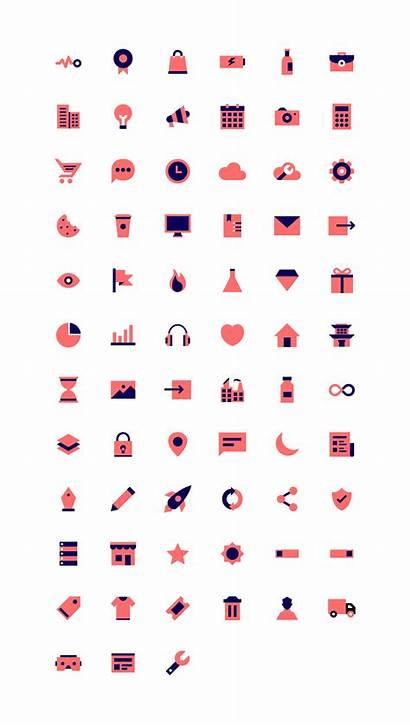Vivid Icons Svg Iconstore Nitish Designed Colorful