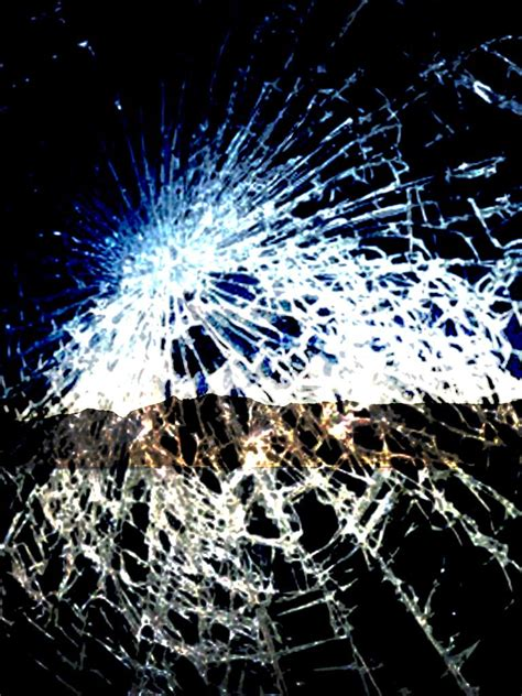 broken screen wallpapers prank  apple iphone