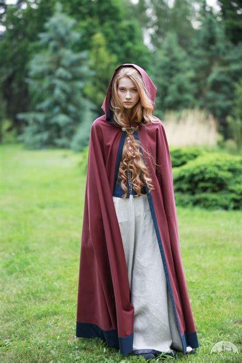 "Cotton Cloak ""Secret Garden"" | Fashion, Medieval clothing ..."