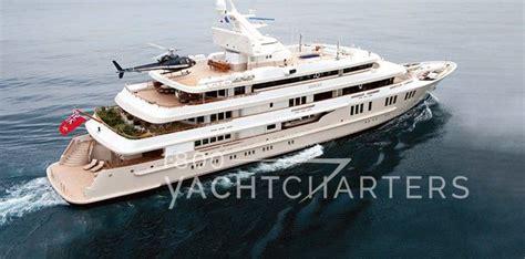 Yacht With Helipad by Helipad 1 800 Yacht Charters