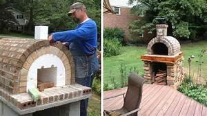 Fabriquer un four a pizza exterieur 2 petit four a for Fabriquer un four a pizza exterieur