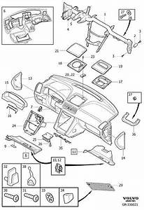 3409450 - Bracket  Genuine Classic Part  Body  Dashboard  Loudspeaker  Interior