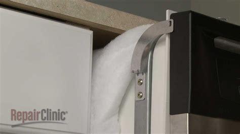 dishwasher mounting bracket replacement ge dishwasher repair part wxx youtube