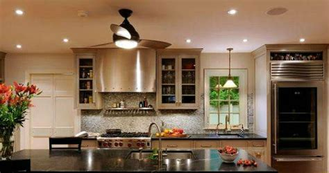 ceiling fan kitchen island island ceiling fans image collections home and lighting 8075