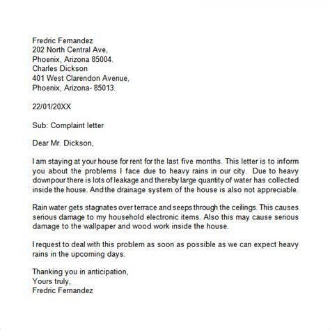 12 sle grievance letters pdf word sle templates