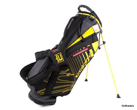 New Cobra UltraLight UL20 Golf Stand Bag Black / Yellow ...