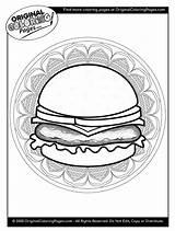 Cheeseburger Cheeseburgers sketch template