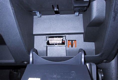 mechanic skoda diagnostic socket location