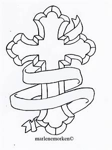 Catholic Cross Tattoo Design by Marlenefm on DeviantArt