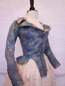 à La Hussarde : pierrot la hussarde jacket france 1780 1790 nattier blue silk taffeta with a woven ~ Medecine-chirurgie-esthetiques.com Avis de Voitures