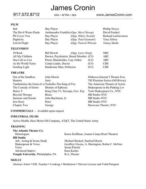 Audiologist Resume by Free Resume Templates Scholarship Audiologists Within Blank 93 Enchanting