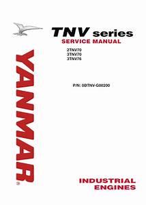 John Deere Yanmar Tnv Series 2tnv70 3tnv70 3tnv76