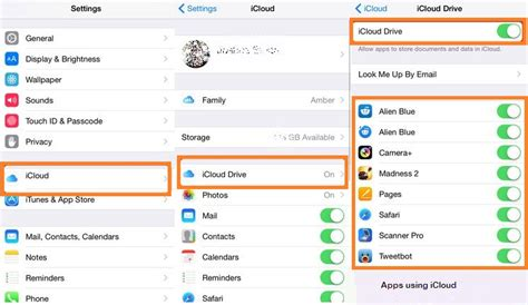 how to use iphone apps on mac enable or disable apps use icloud on your iphone ios