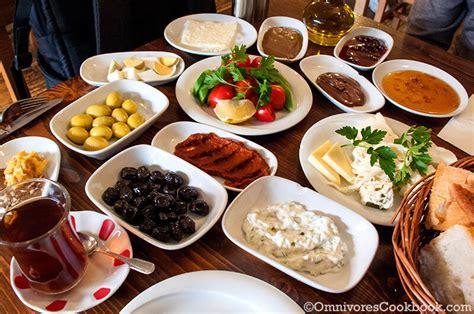 Breakfast Experience In Istanbul  Omnivore's Cookbook
