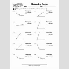 Angles  How To Measure Angles With A Protractor By Alicw  Teaching Resources Tes