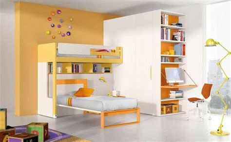 chambre orange chambre garcon jaune et grise