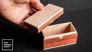 Small Wooden Box      Last Minute Gift Ideas