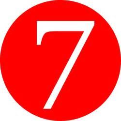 Number 7 Clip Art