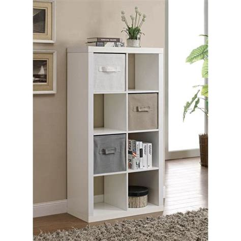 better homes and gardens cube organizer desk multiple finishes better homes and gardens 8 cube organizer multiple colors