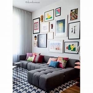 Tapete Living : living com tapete geom trico composi o de quadros e ~ Yasmunasinghe.com Haus und Dekorationen
