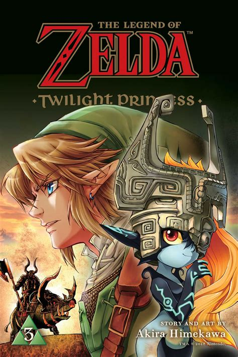 The Legend Of Zelda Twilight Princess Vol 3 Book By