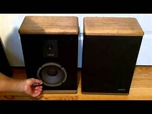 Advent Baby Ii Vintage Stereo Bookshelf Speakers