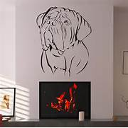 Wall Stickers Decoration Artistic De Bordeaux Dogs Animal Wall Art Sticker Wall Decal Transfers EBay