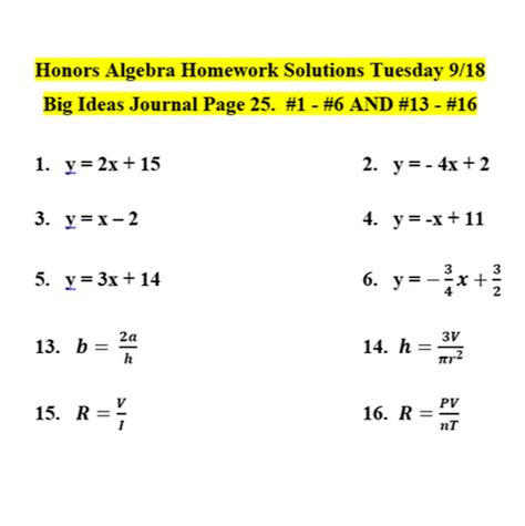 Don't worry, homework help global is here to help. Algebra 2 Connections Homework Help. Algebra 2 core ...
