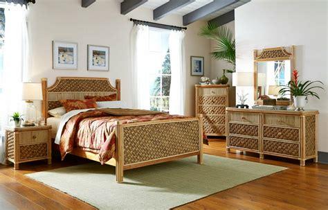 island tropical wicker bedroom set kozy kingdom