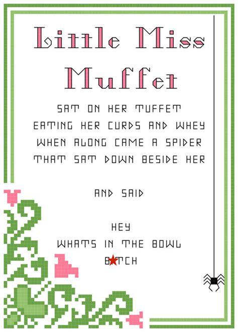 Rhyming Nursery Rhymes For Kids by Andrew Dice Clay Little Miss Muffet 5x7 Dirty Nursery Rhyme