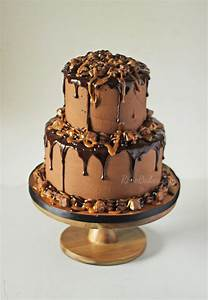 Triple Chocolate Snickers Cake - Rose Bakes
