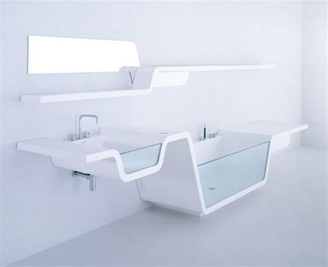 Ultra Modern Bathroom Sinks by Integrated Bathroom Interior And Fixture Design Design