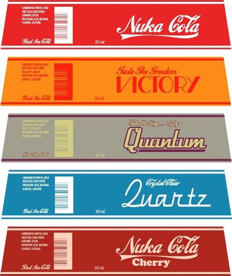 Nuka Cola Quantum Label by 17 Best Images About Fallout New Vegas On