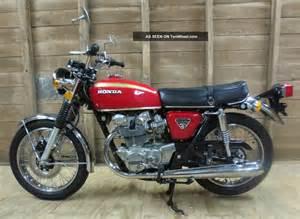 1972 Honda 450 Motorcycle