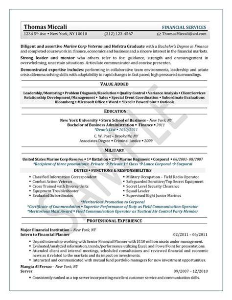 university student resume exle sle